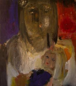 Pintura de Fernando Peiró Coronado pintada en 1966 con pigmentos al látex sobre tabla. Medidas 50x44..