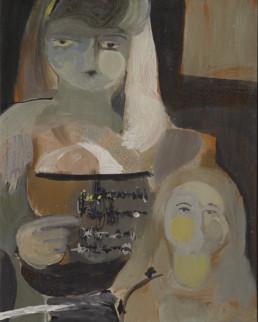 Pintura de Fernando Peiró Coronado realizada en 1967 sobre tabla y pigmentos al látex. Medidas 63x50.