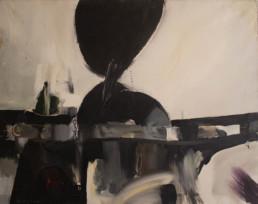 Pintura de Fernando Peiró Coronado, 'Llegando a la idea', óleo sobre lienzo. Medidas 73x92.