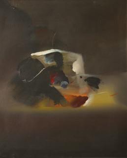 'Viaje a lo desconocido', pintura de Fernando Peiró Coronado. Medidas, 61x50. Óleo sobre lienzo,