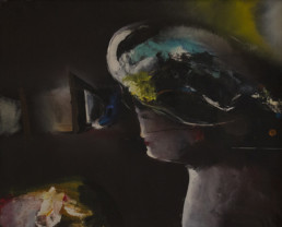 'Señora' de Fernando Peiró Coronado. Pintura realizada con óleo sobre lienzo, medidas 65x80.