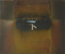 Pintura 'Recuerdos lejanos' de Fernando Peiró Coronado, pintura realizada con pray, óleoy tela sobre tabla entelada y preparada conpolvo de mármol.