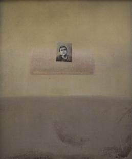 Pintura 'Navegando otros espacios' de Fernando Peiró Coronado , óleo sobre lienzo. Fondo atmosférico, con evanescencias lumínicas, difuminados de color. Mark Rothko