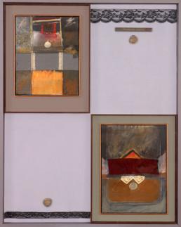 Contención erógena' obra de Fernando Peiró Coronado. Medidas, 119x95. Una particular obra de gran formato Colección del Ayuntamiento de Benicarló