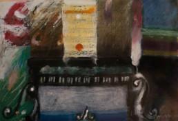 'Música para un tsunami' obra de Fernando Peiró Coronado. Serie realizada en colaboración con Cáritas Diocesana. Medidas 20x29