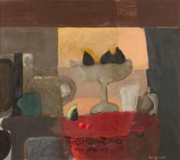 'Bodegón' obra de Fernando Peiró Coronado realizada a base de pigmentos con látex sobre tablero. Medidas 62x71.