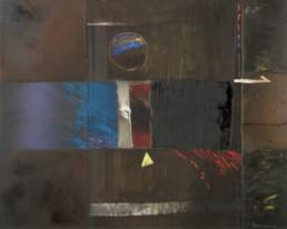 'Noche romántica' obra de Fernando Peiró Coronado Medidas, 73x92. Pintura realizada sobre tabla con una base de polvo de mármol.